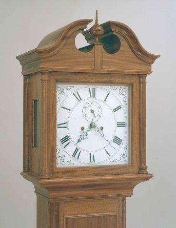 Harris tall clock 3b 9-16-08