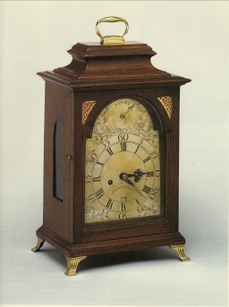 Thomas Walker Bracket Clock CWF